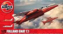 Airfix 1/72 Model Kit 02105 Folland Gnat T.1